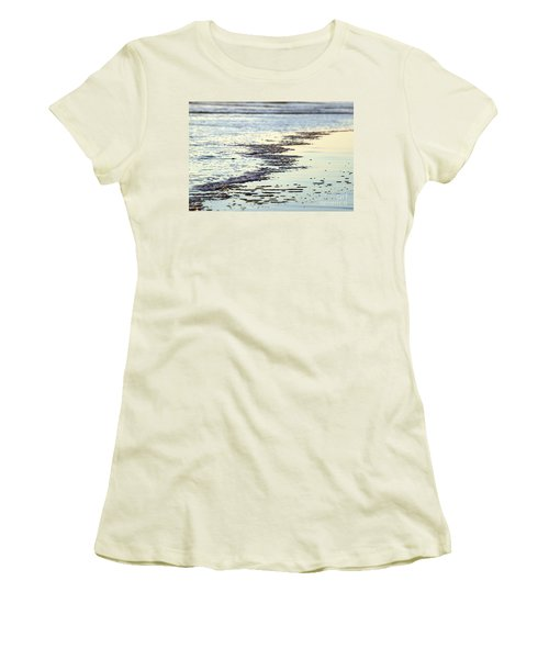 Beach Water Women's T-Shirt (Junior Cut) by Henrik Lehnerer