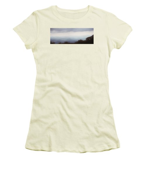 Clouds In The Mountains Women's T-Shirt (Athletic Fit)