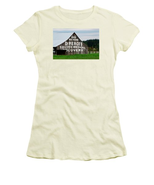 Dr. Pierce Barn 110514.98.1 Women's T-Shirt (Athletic Fit)