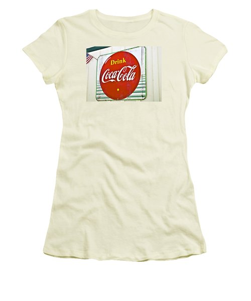 Drink Coca Cola Women's T-Shirt (Athletic Fit)