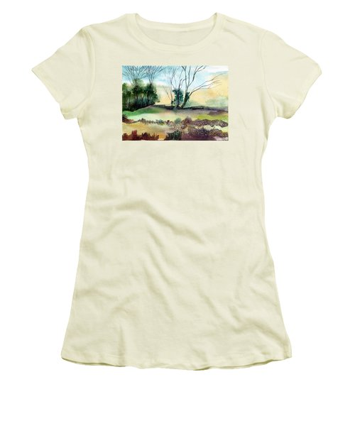 Far Beyond Women's T-Shirt (Junior Cut) by Anil Nene