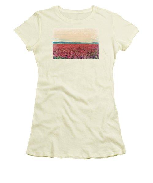 Fields Of Heaven Women's T-Shirt (Athletic Fit)