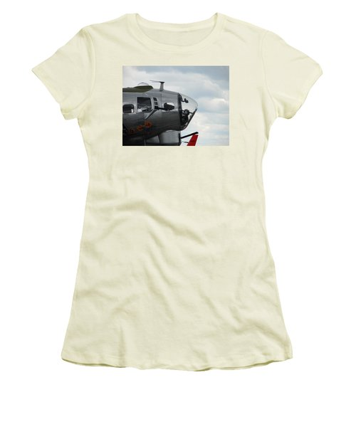 Guns Everywhere Women's T-Shirt (Junior Cut) by Randy J Heath
