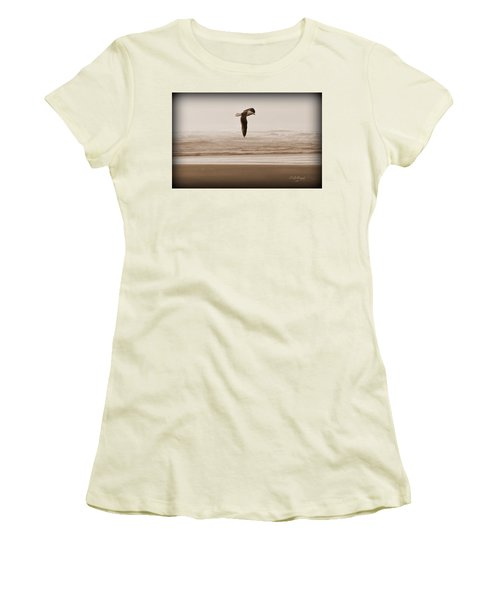 Jonathon Women's T-Shirt (Junior Cut) by Jeanette C Landstrom