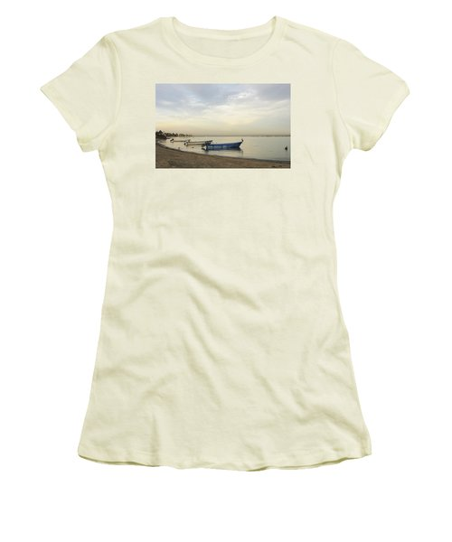 La Paz Waterfront Women's T-Shirt (Junior Cut) by Anne Mott