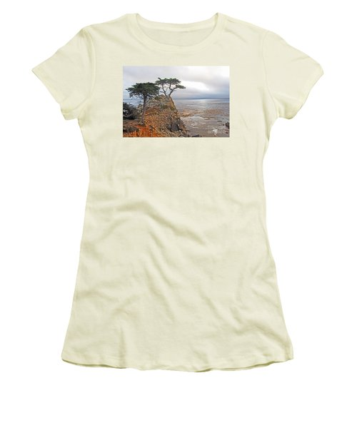 Lone Cypress Women's T-Shirt (Athletic Fit)