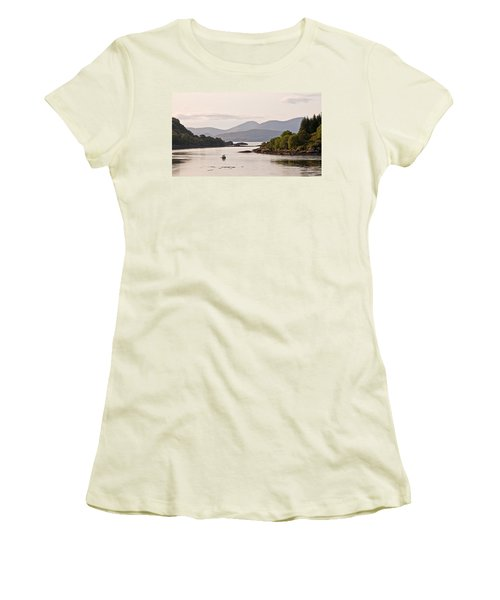 Looking To The Isle Of Mull Women's T-Shirt (Athletic Fit)