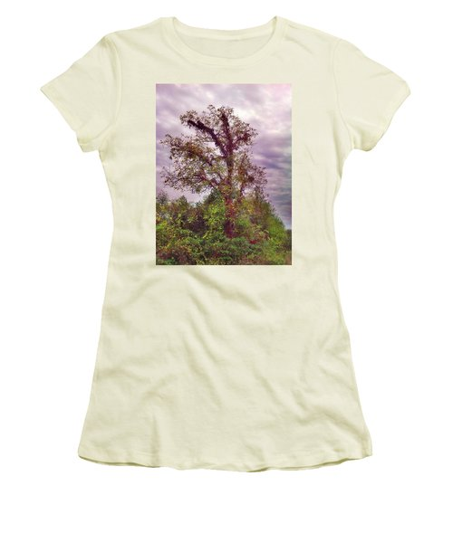 Women's T-Shirt (Junior Cut) featuring the photograph Majestic  by Janice Spivey