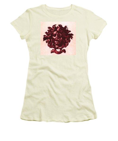 Medusa Head Women's T-Shirt (Junior Cut) by Photo Researchers