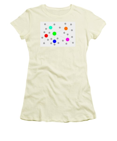 Network Women's T-Shirt (Junior Cut) by Henrik Lehnerer