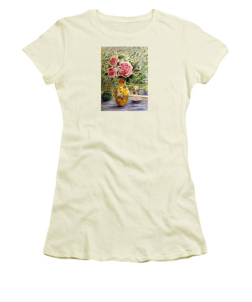 Rainy Afternoon Joy Women's T-Shirt (Athletic Fit)