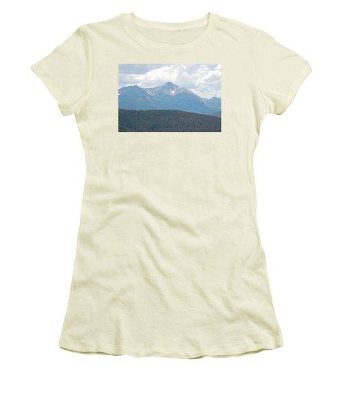 Rocky Mountain High Women's T-Shirt (Junior Cut) by Randy J Heath