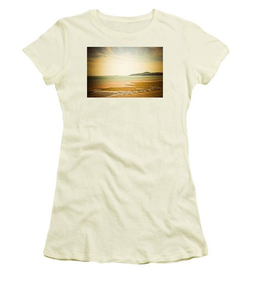 Women's T-Shirt (Junior Cut) featuring the photograph Serenity by Sara Frank
