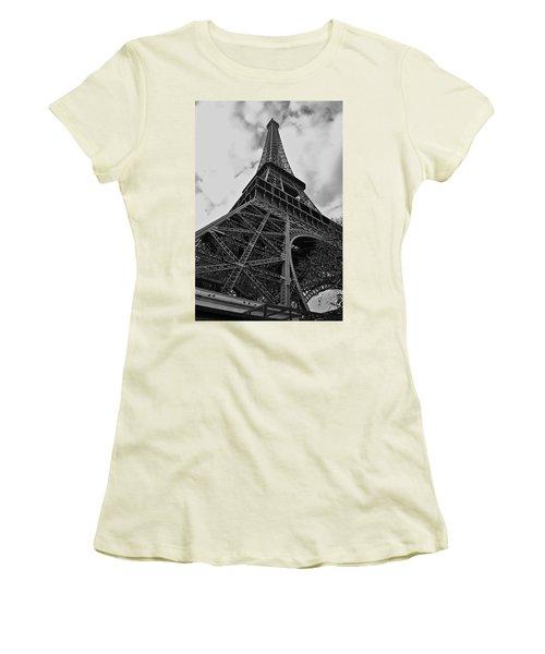 Women's T-Shirt (Junior Cut) featuring the photograph Still Standing by Eric Tressler