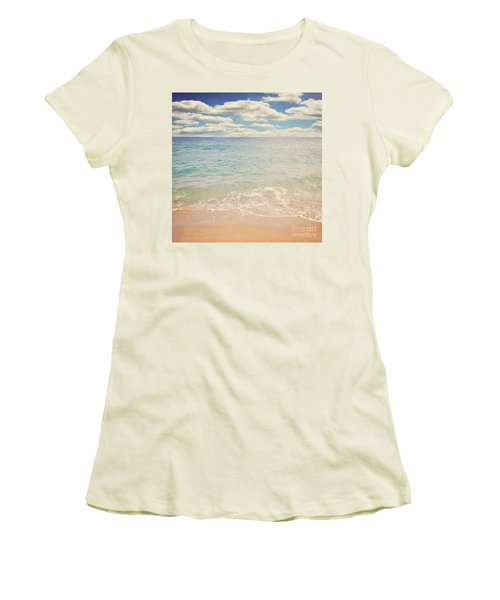 The Beach Women's T-Shirt (Junior Cut) by Lyn Randle