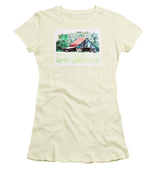 Tobacco Barn Women's T-Shirt (Athletic Fit)