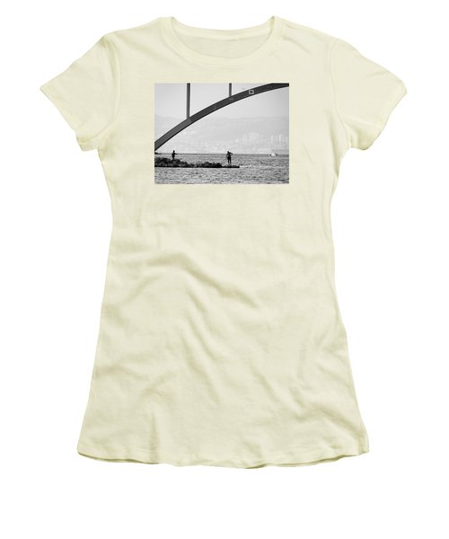 Under The Bridge 2 Women's T-Shirt (Athletic Fit)