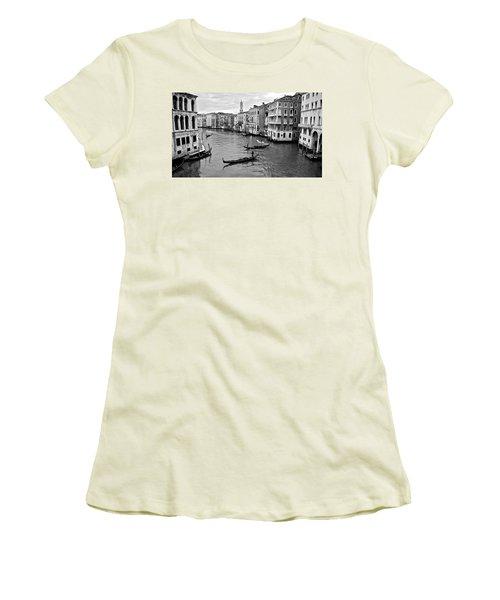 Women's T-Shirt (Junior Cut) featuring the photograph Venezia by Eric Tressler