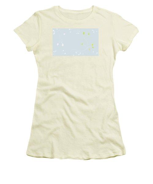 Young Poppy Women's T-Shirt (Junior Cut) by Kevin McLaughlin