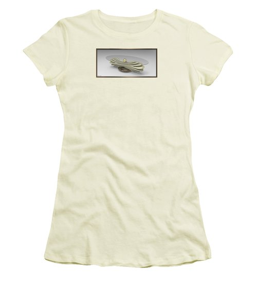 ' A Distorted Spring Table ' Women's T-Shirt (Athletic Fit)