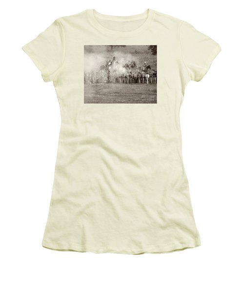 Gettysburg Confederate Infantry 7503s Women's T-Shirt (Athletic Fit)