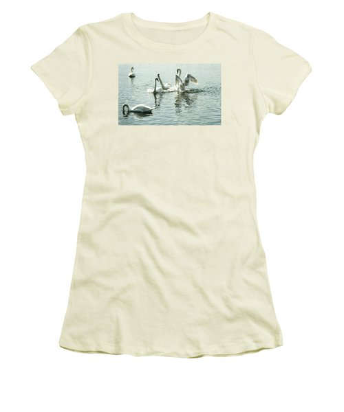 I Think He Means It..... This Time........ Women's T-Shirt (Junior Cut) by Martina Fagan