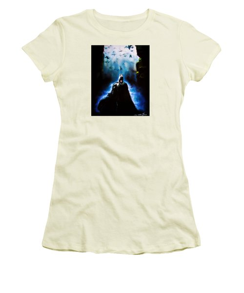 Into The Cave Women's T-Shirt (Athletic Fit)