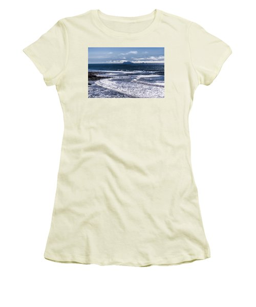 Women's T-Shirt (Junior Cut) featuring the photograph  Point Loma And Islos Los Coronados by Daniel Hebard