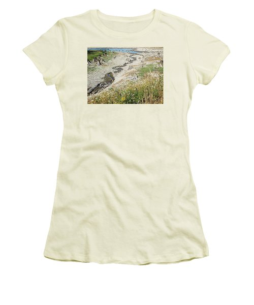 Alder Lake Stumps Women's T-Shirt (Junior Cut) by Joseph Hendrix