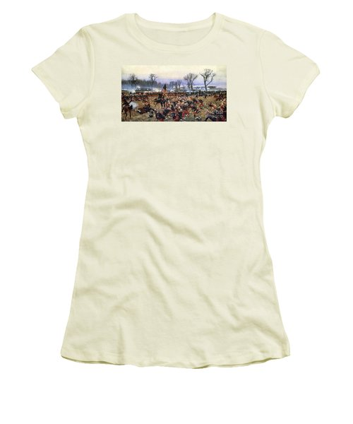 Battle Of Fredericksburg - To License For Professional Use Visit Granger.com Women's T-Shirt (Athletic Fit)