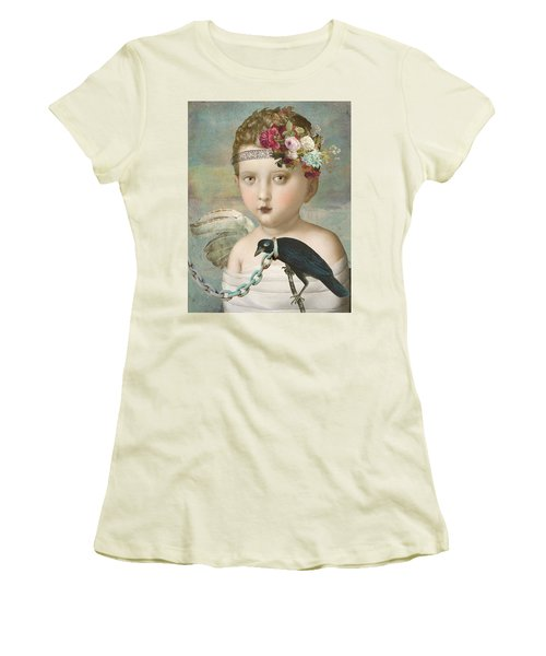 Broken Wing Women's T-Shirt (Junior Cut) by Lisa Noneman