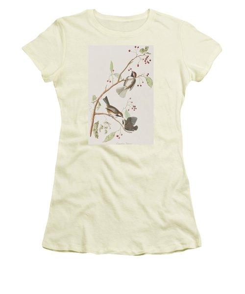 Canadian Titmouse Women's T-Shirt (Athletic Fit)