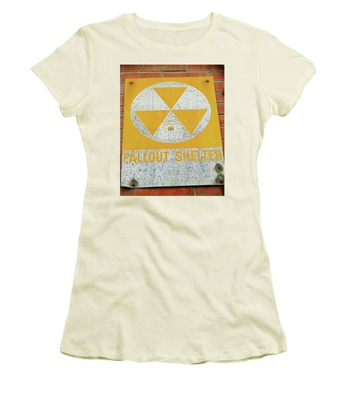 Women's T-Shirt (Junior Cut) featuring the photograph Capacity 70 by Bruce Carpenter