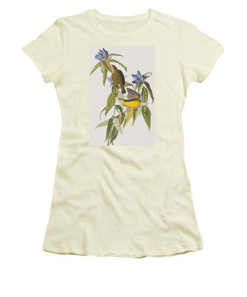 Connecticut Warbler Women's T-Shirt (Athletic Fit)