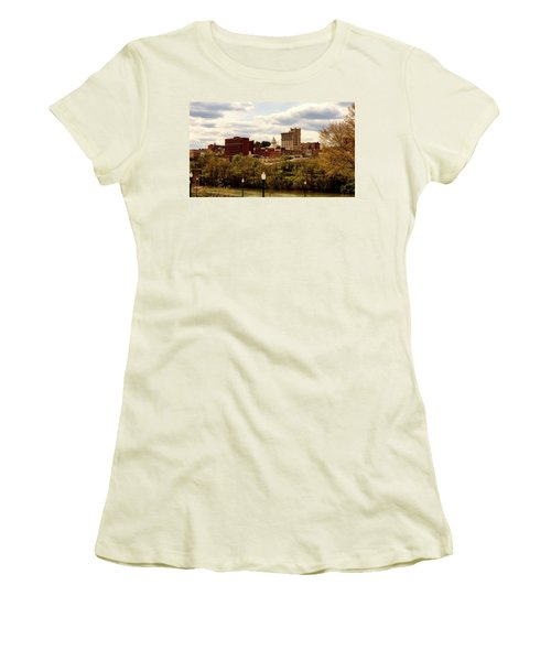Fairmont West Virginia Women's T-Shirt (Junior Cut) by L O C