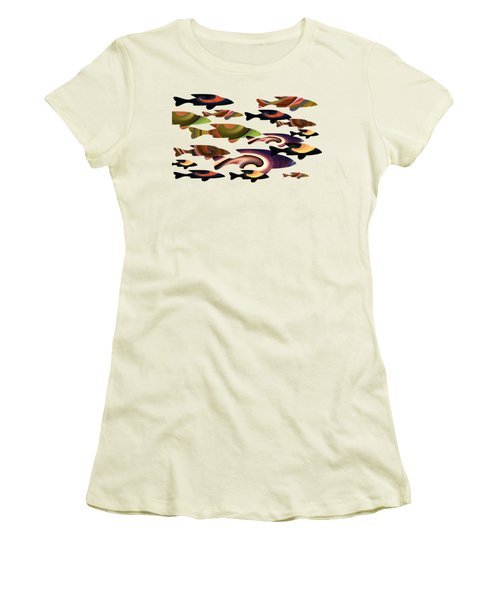 Fish Of A Different Color Women's T-Shirt (Athletic Fit)