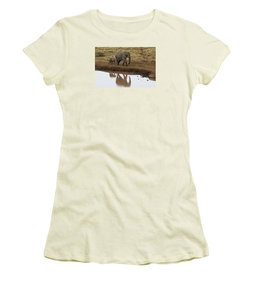 Women's T-Shirt (Junior Cut) featuring the photograph Follow Me by Gary Hall