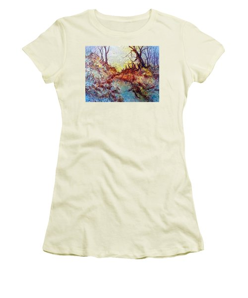 Forgotten Fence Women's T-Shirt (Athletic Fit)