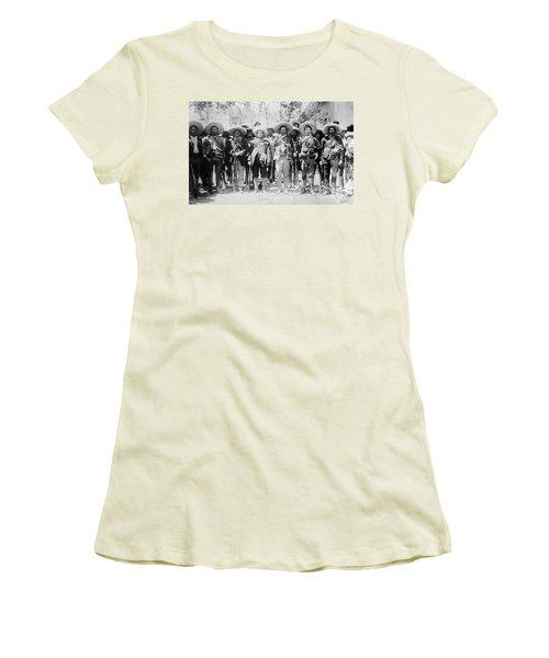 Francisco Pancho Villa Women's T-Shirt (Athletic Fit)