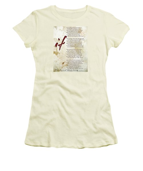 IF Women's T-Shirt (Athletic Fit)