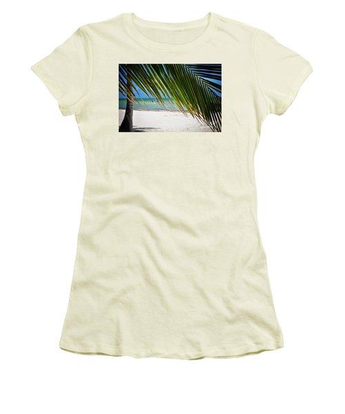 Key West Palm Women's T-Shirt (Junior Cut) by Kelly Wade