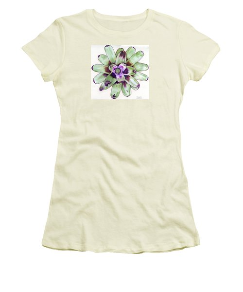 Neoregelia 'painted Delight' Women's T-Shirt (Athletic Fit)