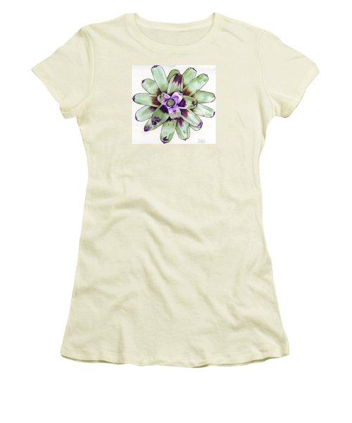 Neoregelia 'painted Delight' Women's T-Shirt (Athletic Fit)
