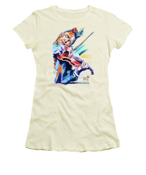 Nigel Kennedy Women's T-Shirt (Athletic Fit)