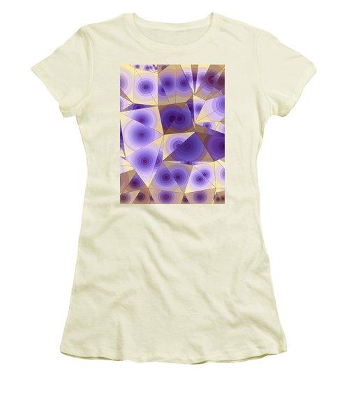 Passion Fruits Women's T-Shirt (Junior Cut) by Moustafa Al Hatter