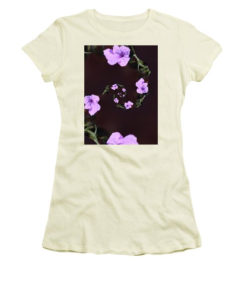 Women's T-Shirt (Junior Cut) featuring the photograph Phone Case by Debra     Vatalaro