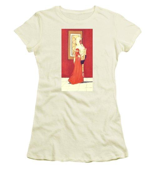 Princess Women's T-Shirt (Junior Cut) by Catherine Swerediuk