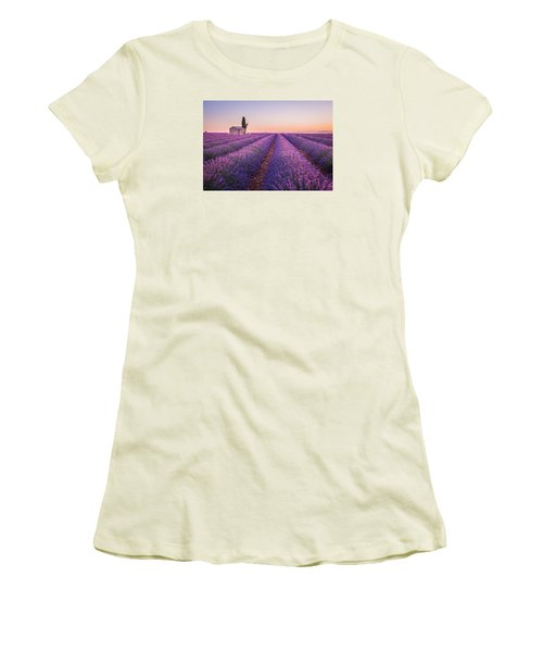 Provence Women's T-Shirt (Athletic Fit)