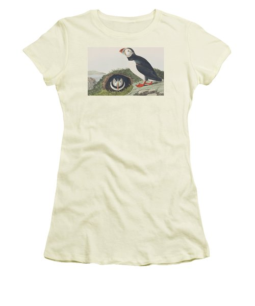 Puffin Women's T-Shirt (Athletic Fit)