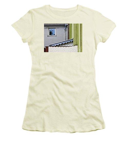 Schierstein Geometrics 2 Women's T-Shirt (Junior Cut) by Sarah Loft